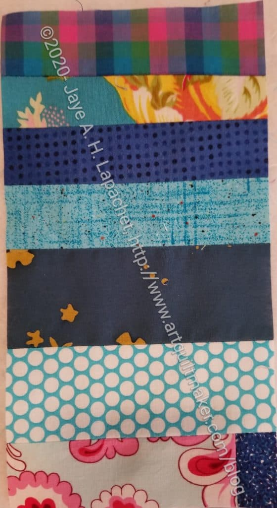 Blue Strip Donation Block #2-12
