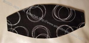 Black Circle Mask