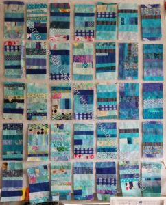Blue Color Strip #2 Donation Blocks