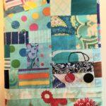 Blue Improv Journal Cover - front