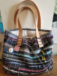 Woven Tote by Carrie P