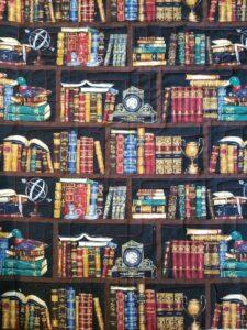 Bookshelf fabric