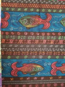 Grumpy Fish print