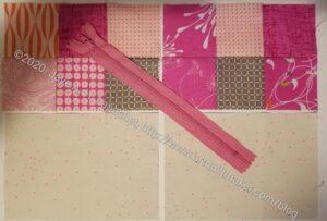 Pink Pouch fabrics