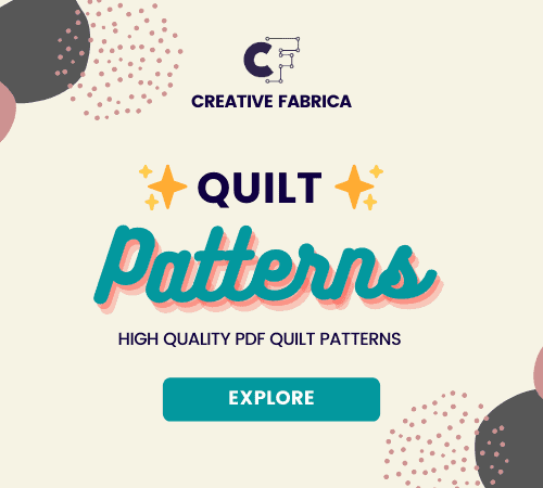 Quilt Patterns from Creative Fabrica