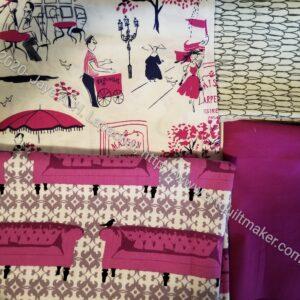 Mini Mkaer Case SAL fabric