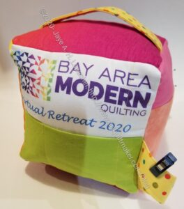 BAM 2020 Retreat Mega Pinnie - finished