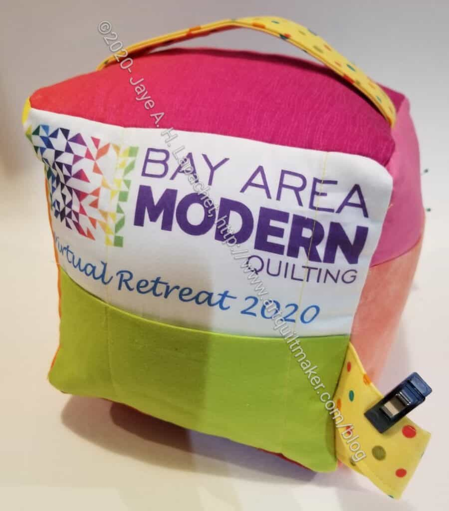 BAM 2020 Retreat Mega Pinnie - finished