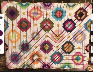 Maria's Radiate quilt