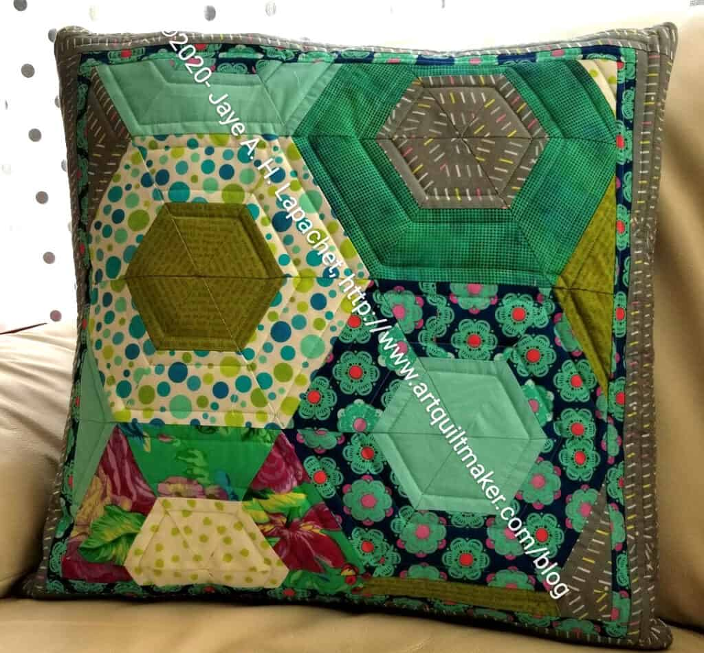 Jawbreaker cushion cover