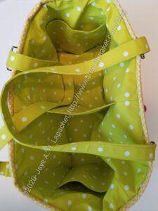 Oslo Craft Bag Swap Gift - interior