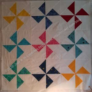 Pinwheel Donation Quilt