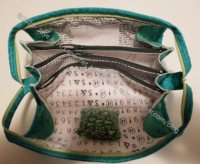Tim's Sew Together Bag inside front