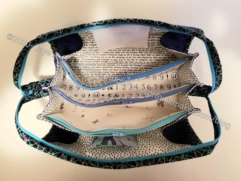 Sue's Sew Together Bag inside back