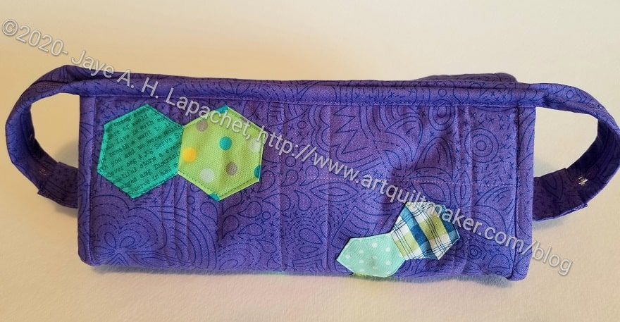 Carrie's Sew Together Bag - outside