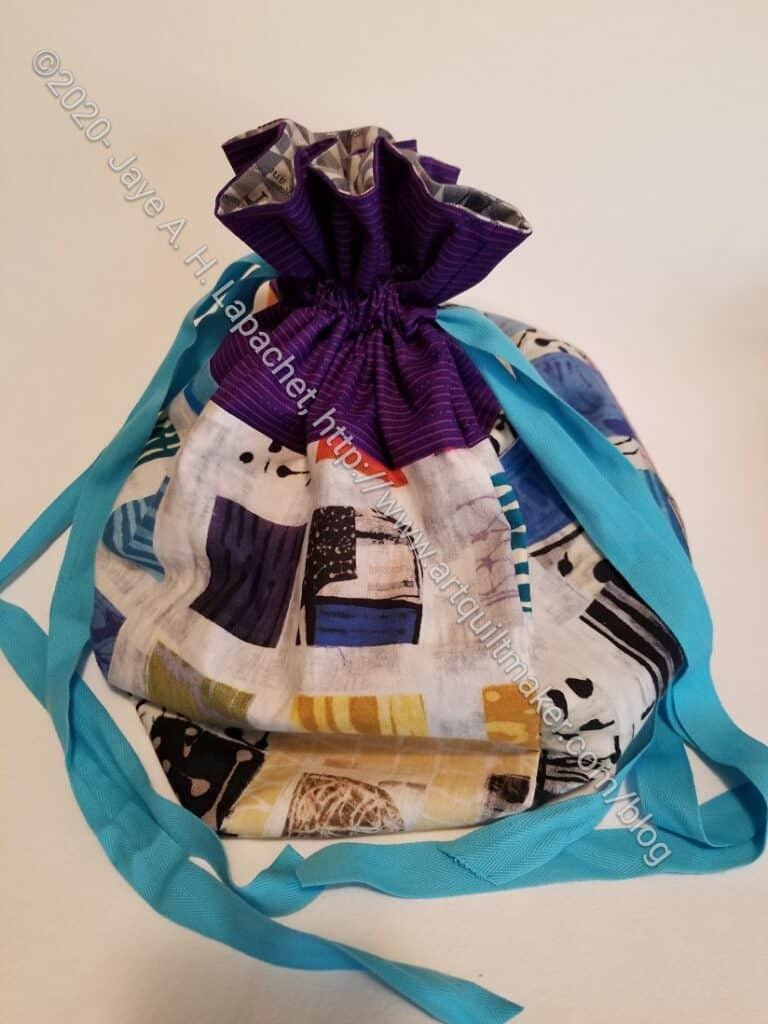 Drawstring Bag - Artist size