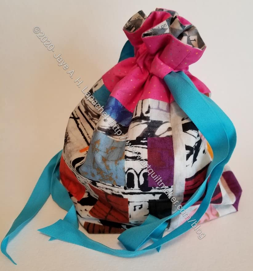 Drawstring Bag - Project size
