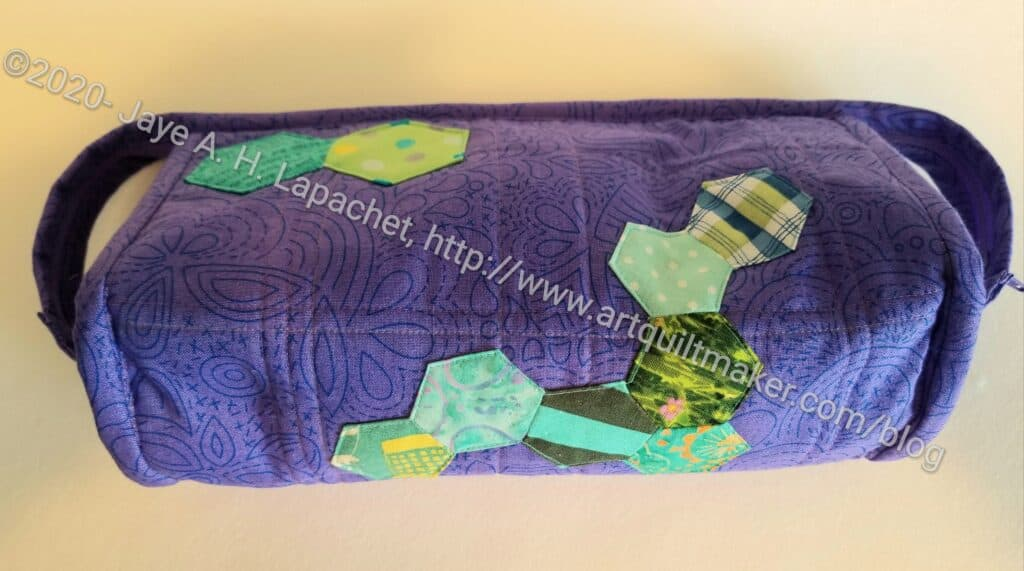 Carrie's Sew Together Bag - bottom