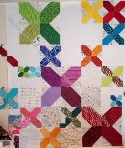 X Quilt- Sunday work