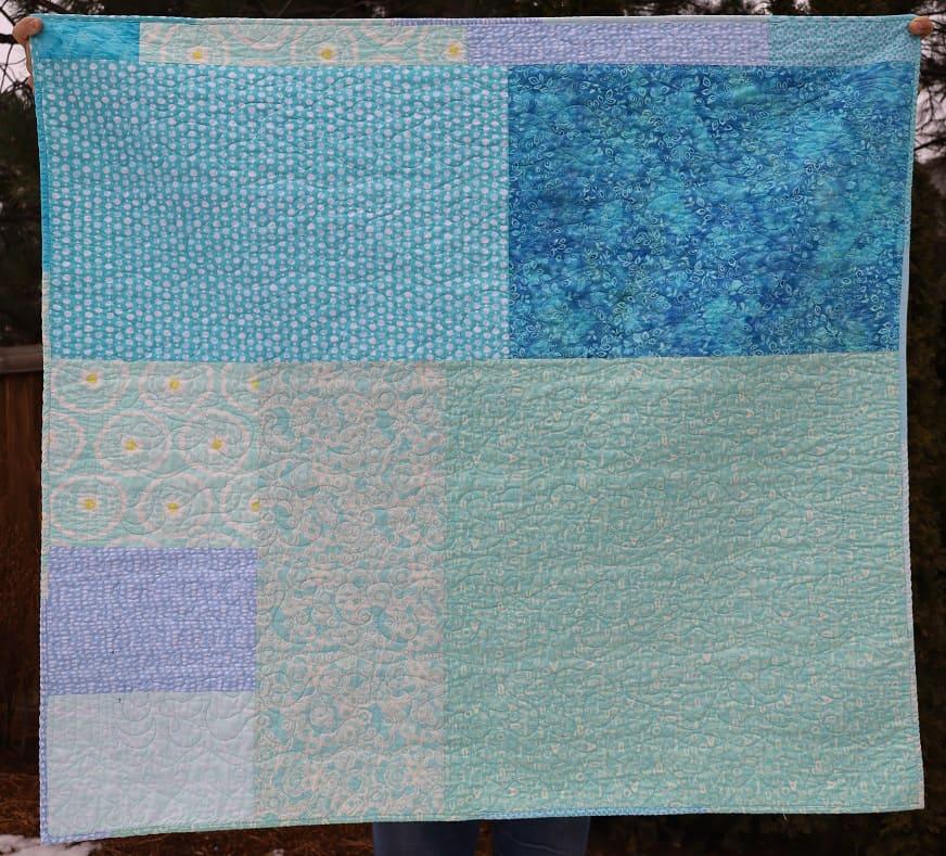 Blue Strips #2 back