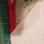 Layer fabric with zipper