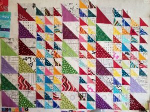 Final group of X Quilt HSTs