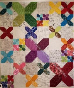 X Quilt Top Finished