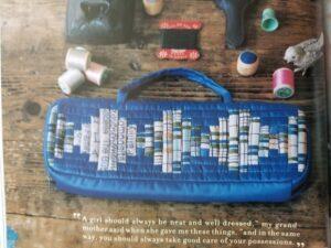 Yoko Saito's Natural Patchwork bag