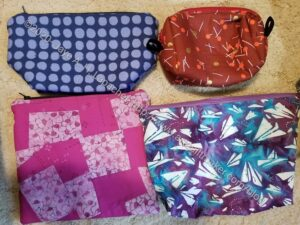 Sue's Zipper Pouches