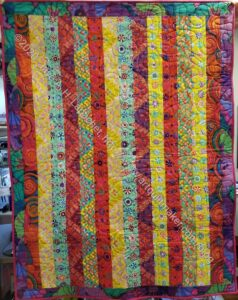 BAM Kaffe Community Quilt by Patti