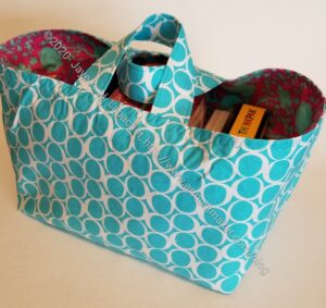 Turquoise One Hour Basket