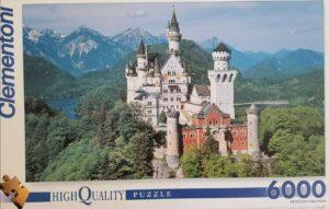 Clementoni 6000 piece Neuschwanstein puzzle