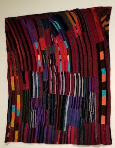 Rosie Lee Tompkins 'Lines' quilt
