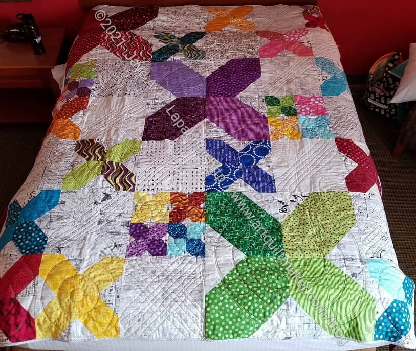 Finished: X Quilt