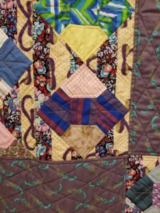 Matt Macomber Bow Tie quilt detail