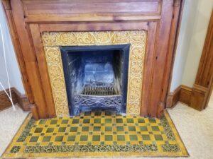 Gaches Mansion fireplacee