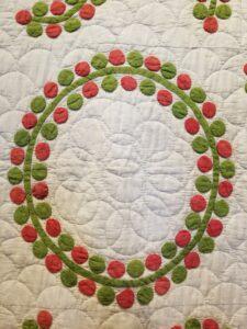 Circle Applique' - detail
