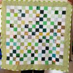 St. Patrick's Day donation quilt finished
