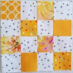 Yellow-Orange donation blocks