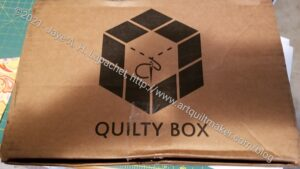 Quilty Box arrived