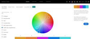 Adobe Color site