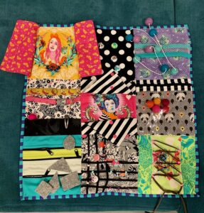LFL's Busy Quilt - front excite