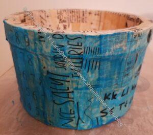 Tools bucket - blue pass