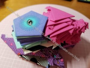 Pieces basted at Craft Night