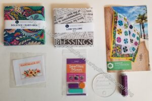 Quilty Box n.3 contents