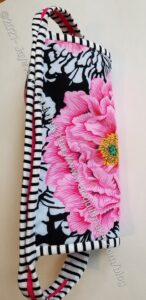 Brocade Peony (La Pass) Sew Together Bag - exterior