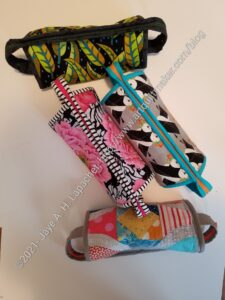 4 Finished Sew Together Bags