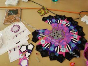 Sew Day Rosette #1 Workk