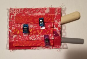 Finished Clippy Pocket ready to add to small front pocket
